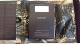 Аккумулятор на солнечных панелях 5W-2