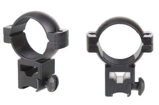 Кронштейн ZOS HQ102 (d30/10/h22) с прямой видимостью ласточкин хвост