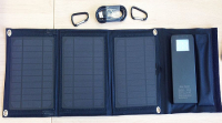 Аккумулятор на солнечных панелях 8W-3