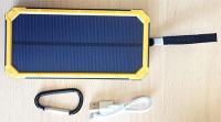 Аккумуляторы на солнечных панелях походный