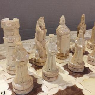Шахматы, шашки, нарды (3 в 1)