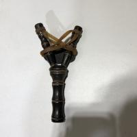 Рогатка  двойной жгут, деревянная (19х11см) 1267741