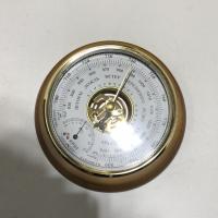 Барометр-анероид БТК-СН14 комнатный стрелочный настенный с термометром, 175ммх60мм, диаметр шкалы 127 мм УТЕС