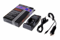 Зарядное устройство WF-139 Li-lon + автоадаптер (220В/12В) для (R123/14500/17670/18650)
