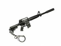 "Брелок-сувенир ""Автоматический карабин M4-A1"" металл, 12см, блистер"
