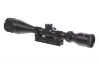 Прицел оптический ZOS HQ902 с кронштейном на ласт.хвост 3-9х40АО